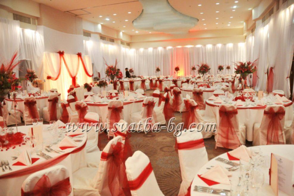 Сватбена украса в хотел Хилтън София