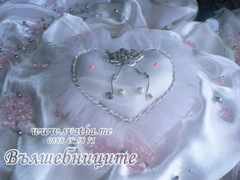 сватбена украса в бг радио сватба