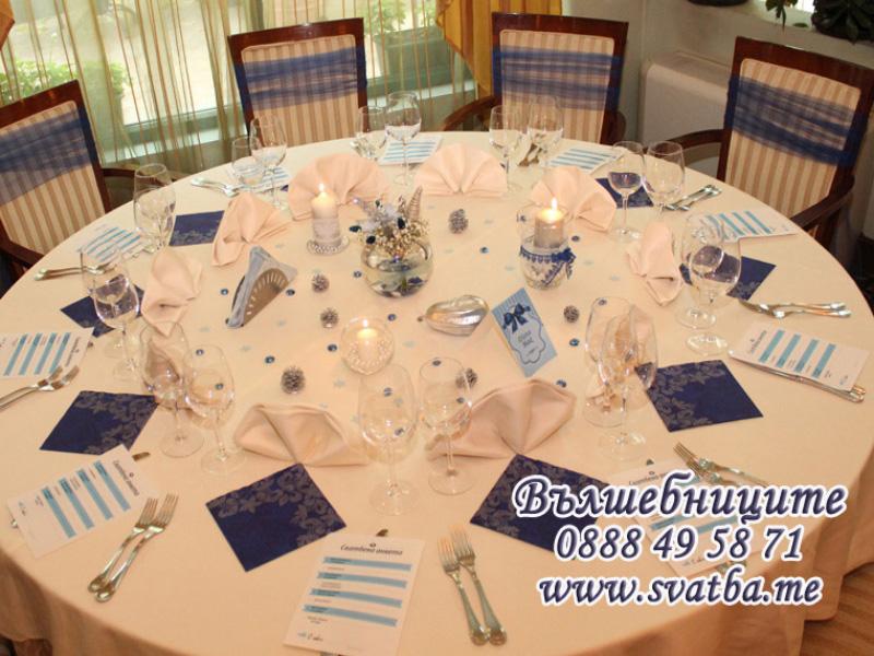 Сватбена декорация в Хотел Кристал Палас