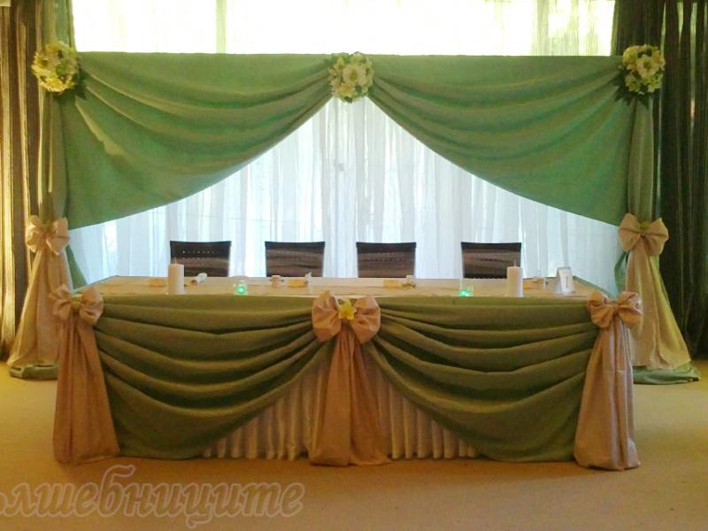 Сватбена декорация в Комплекс Пири град Банско