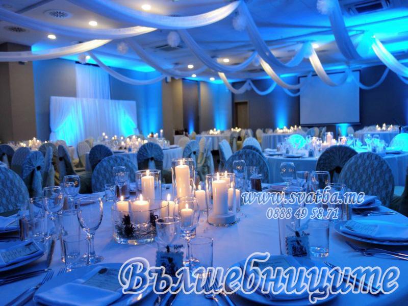 Сватбена декорация в Хотел Бест Уестърн Премиер Летище София