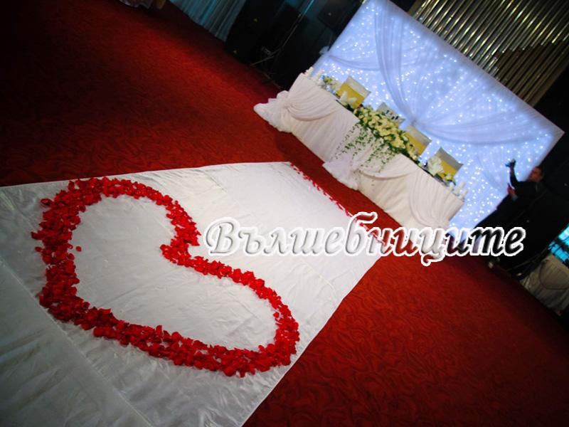 Сватбена декорация в Хотел Самоков Боровец