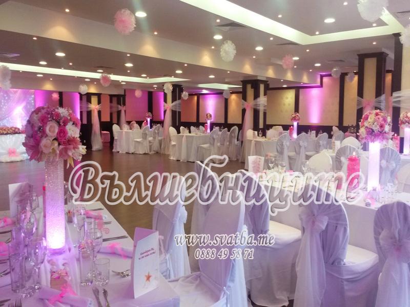 Сватбена декорация в Хотел Биляна Бийч Несебър