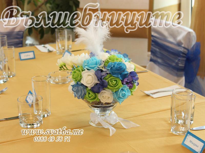 Сватбена декорация в Ресторант Комплекс Езерото Суходол