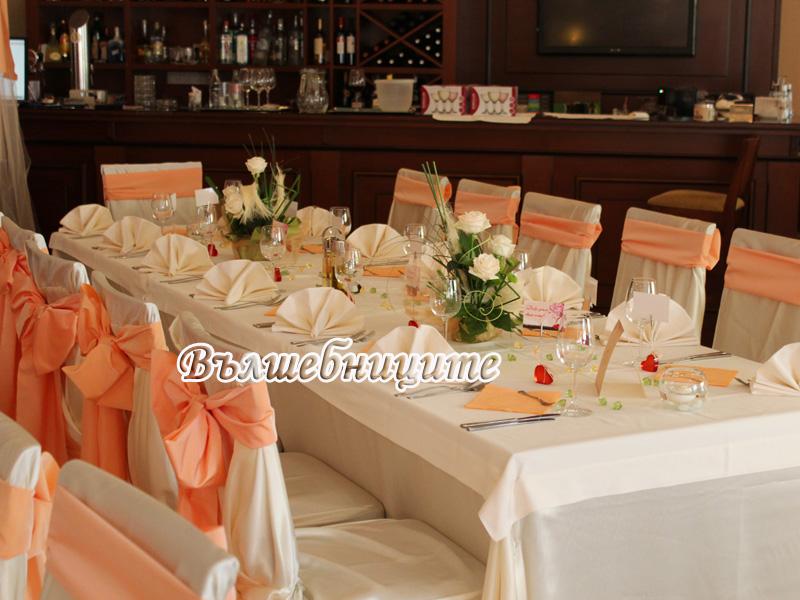 Сватбена декорация в Хотел Олимп град Тетевен