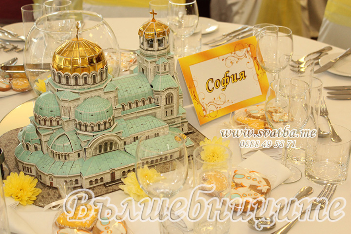 Тематична сватбена декорация: