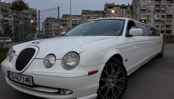 Бяла лимузина под наем сватбен автомобил кола за сватба София сватбена агенция