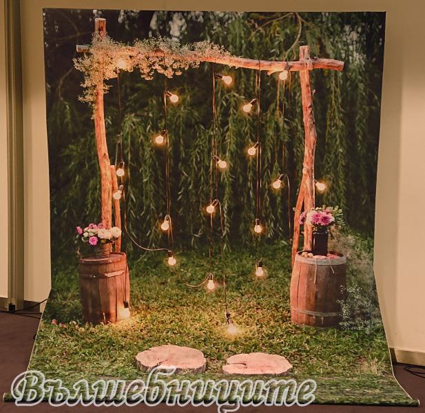 Сватбена украса хотел Новотел тема Горска сватба Novotel Sofia сватбено изложение